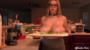 Preparing My Breasts for Daddy Dolcett Roleplay