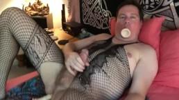 Two Dildos Inside Me Ass & Mouth