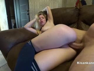 She want my sperm! Teen blonde Kisankanna !