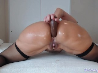 Milf Jess Ryan Uses BBC toys for double penetration and riding cowgirl