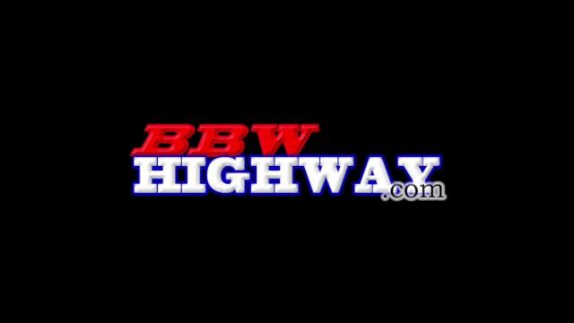 Jenna Foxx BBW takes two big black cocks in her BBWhighway.com debut 28