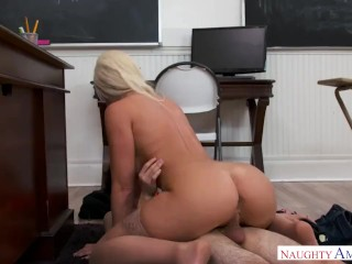 NAUGHTY AMERICA TEACHER FUCKING FRAT BOY