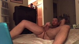 Portuguese Canadian Boy Jerks Off and Cums Watching Porn