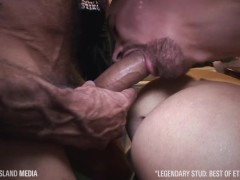 Big-dick Marine Ethan Wolfe fucks every hole he can find