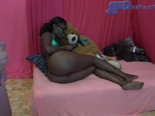 Ebony stepsister masturbation humiliation...