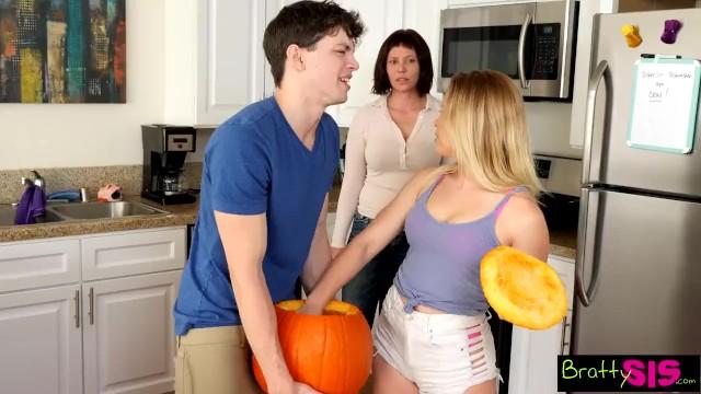 Penis fuck pumpkin Halloween pumpkin fuck