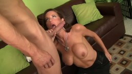 Hot Milf Veronica Avluv Rims Young Stud Ass Then Takes His Cock From Behind