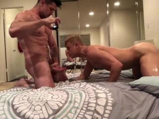 Trenton Ducati Finds Alam Wernik's Ass Juicy Enough to Use Toys And Cum In