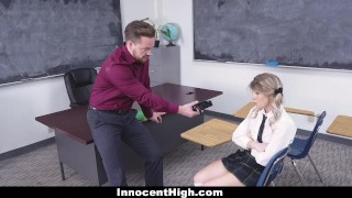 Girl hot down teamskeet by dicked school teacher teacher cumshot