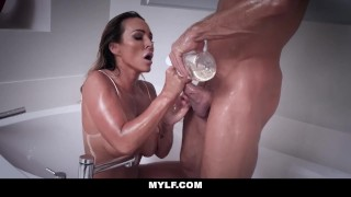 MYLF - Fit Australian Milf Fucked and Filled With Cum Teen swallow