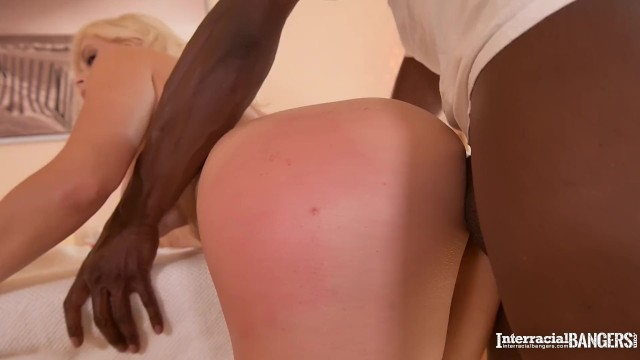 Interracial bangers get to see curvy Vittoria Dolce fucked by black dick 19