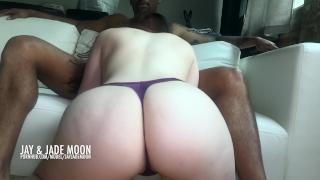 Twerking for the Creampie • JayJadeMoon Amateur Couple