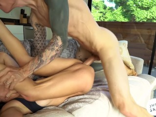 Aggressive Rough Fuck Tape with Amateur Wednesday Parker