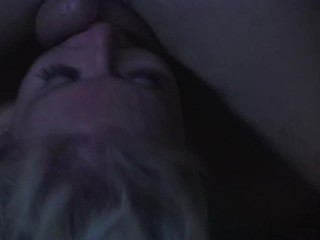 Big Tit Blonde MILF Gets Romantic Anal Fucking