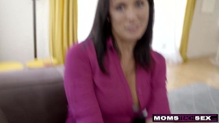 Step together momsteachsex and step cum mom se son cum and
