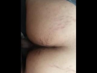 Big ass bouncing on cock