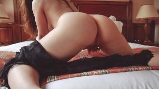 GFE – Ta copine te demande de te caresser après le boulot. porno