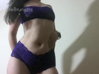 XXXcitedBrunette - Dancing in Lingerie Compilation 1