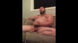 Jack off on the couch