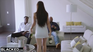 BLACKED Two Teens Get Creampied By Monster Black Cock
