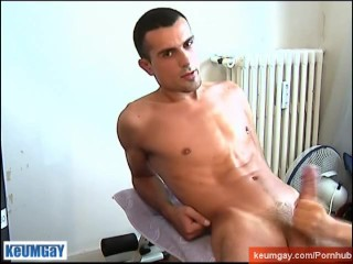 My French neighbour serviced in gay porn in spite of him.