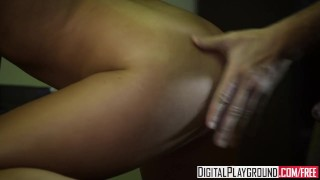 DigitalPlayground - Cute brunette Ella Milano gets filmed by Manuel Ferrara