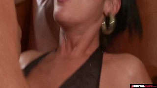 Gangbang party birthday blonde roughsex