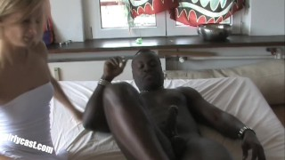 Black first cock big for sweet the nadine bbc time erste