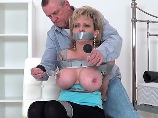 Has her nipples tortured spanked...