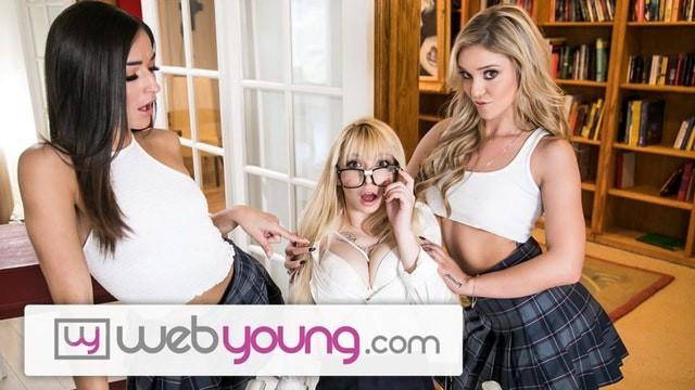 April friesen lesbian site web Webyoung 2 college lesbian girls 1 innocent blonde teen nerd