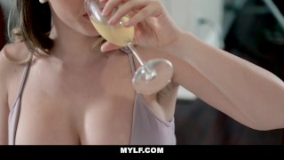 MYLF - Busty Milf Gets Plunged by Young Cock