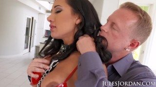 Jules Jordan Amia Miley Is Jules Jordan's Slut Puppy In 4K Cock blonde