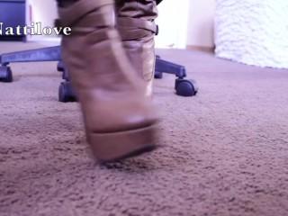 Milf foot fetish...