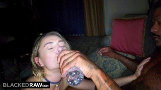 BLACKEDRAW Middle America Teen Fucks The First Black Guy She Sees