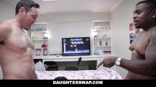 Videogame stepdaughters dads daughterswap each others fuck daughter daughterswap