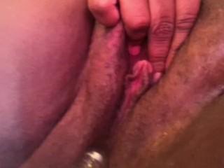 Loving my dildo