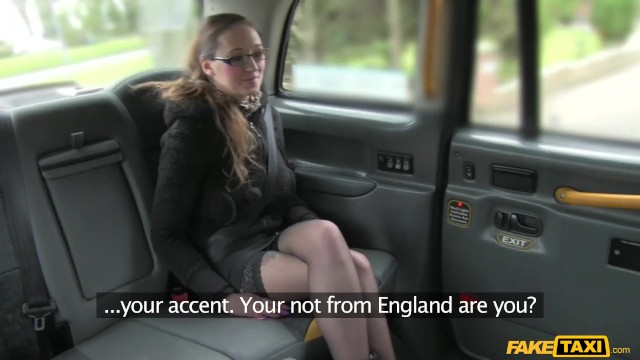 Fake Taxi - American in UK Wants Black Cab Shag 11