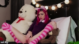 League of Legends Annie Edging with BIG Toy