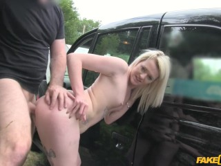 Fake Taxi - Scottish Lass Rides Big Cock