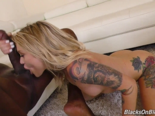 Mandingo Fucks BBC Slut Dakota Skye On Her Stripper Auditions