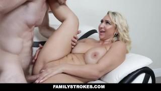 Fuck sexy stepson to and dance familystrokes teaches stepmom stepmom mom