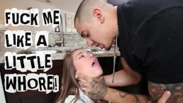 ABUSE ME - Young Teen Kirsten Lee Asks Her Boyfriend Bruno Dickemz To Fuck