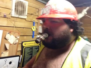 oiled worker clip