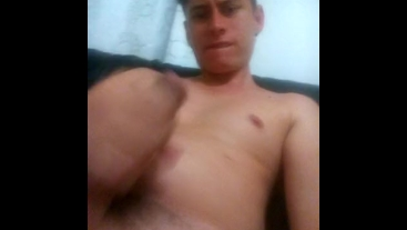 masturbandome en plena transmicion de modelo webcam