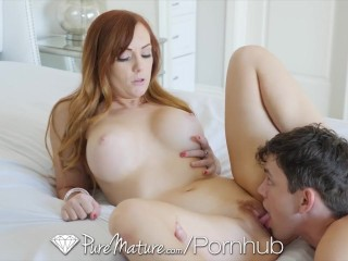 PUREMATURE Bubble Butt MILF PINK PUSSY POUNDED