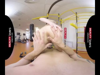 RealityLovers VR – Anal Workout for Fit Gym Teen