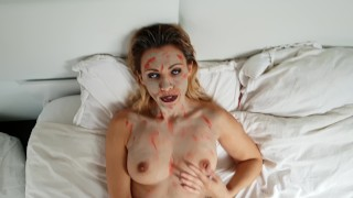 Candycherry7, i'm a zombie and i fuck and suck for Halloween.  Part 2 hd