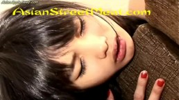 Chained Up Pantyhose Slapper With Cute Face