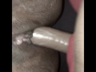 19 YR OLD EATS MILF PUSSY UNTIL SHE CUMS THEN FUCK HER WITH STRAP ON