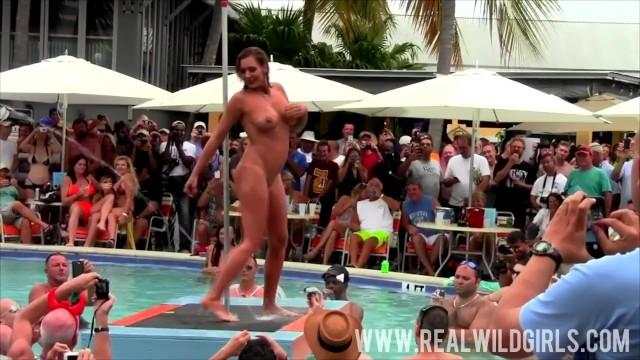 Naked girl pool Sexy sluts pool party fantasy fest 2